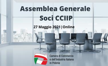 Convocazione Assemblea Generale Dei Soci – 27 Maggio 2021