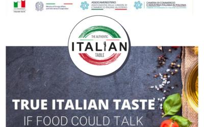 Authentic Italian Table 10 Giugno 2021 – Slow Food Experience