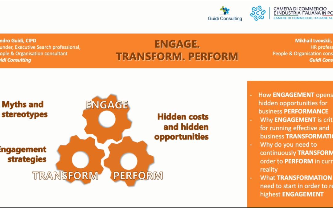 L'engagement come modello di management incentrato sul capitale umano