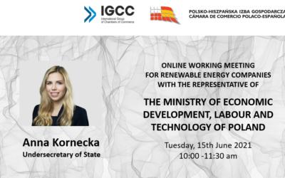 Spotkanie z Ministerstwem Rozwoju, Pracy i Technologii