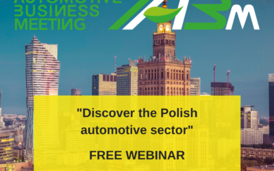 """NIE PRZEGAP: Webinar """"Road to IABM"""" #2– """"Poland and Silesia – the right location for business and foreign automotive investments"""""""