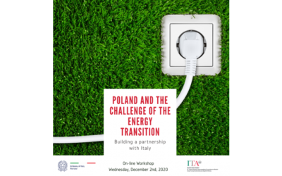 Workshop: Poland and the challenge of the energy transition. Buildinga partnership with Italy