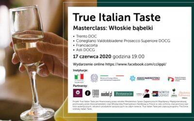 Włoskie aperitivo online, czyli True Italian Taste: Włoskie bąbelki